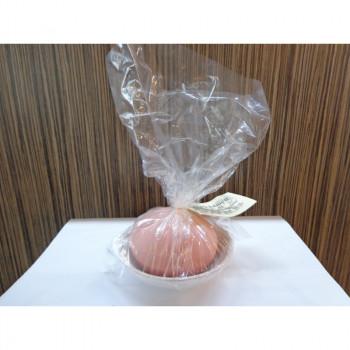 Vonný kámen s miskou 89100900 - růžový s bílou miskou