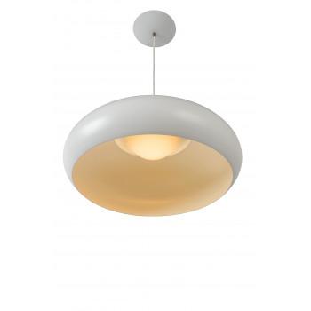 Lucide DANA-LED - závěsné svítidlo - Ø 38 cm - stmívatelné - 1x9W 3000K - Bílá 40407/09/31
