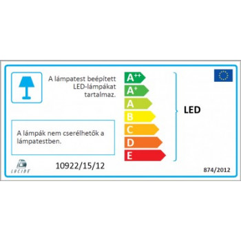 LUCIDE 10922/15/12 JEO-LED bodové svítidlo. Svítidlo 3x5W LED s paticí GU10, 3x350lm, 2700K. LED žárovky jsou součástí svítidla.