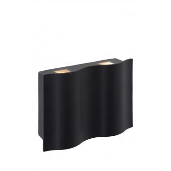 LUCIDE 11823/12/30 WAVE LED venkovní svítidlo. Svítidlo 4x3W LED, 4x180lm, 2700K. LED zdroj je součástí svítidla. IP54. Materiál