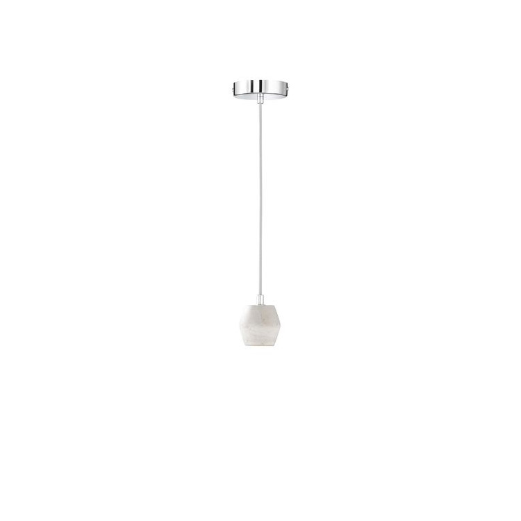 Závěsné svítidlo Luum 60W E27 šedá - WOFI