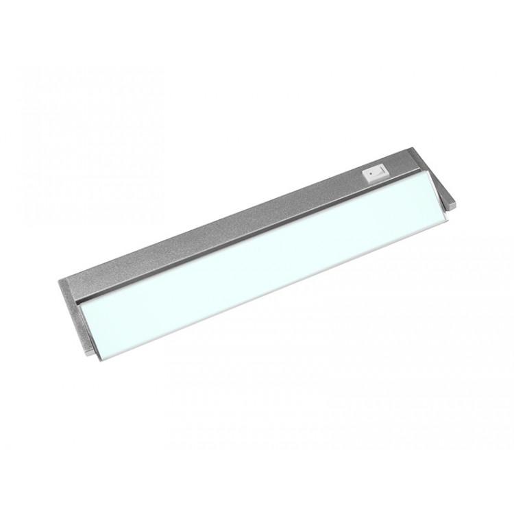 VERSA LED výklopné nábytkové svítidlo s vypínačem pod kuchyňskou linku  5W, stříbrná - studená