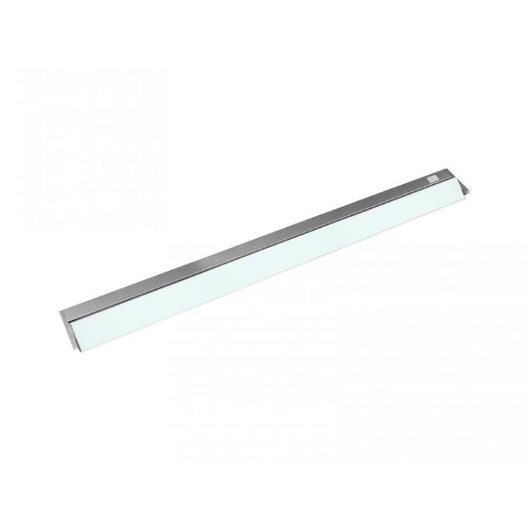 VERSA LED výklopné nábytkové svítidlo s vypínačem pod kuchyňskou linku  15W, stříbrná - studená