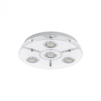 Stropní LED svítidlo CABO 93107 EGLO. Patice GU10. Max. Příkon 4x3W. Typ zdroje LED zdroj. Napájení 230V. Barva světla 3000K (te