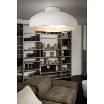 EGLO 94548MOGANOstropní svítidlo 1x60W E27. Materiál kov v bílé a stříbrné barvě. Označení: MOGANO, Výrobce: Eglo, K