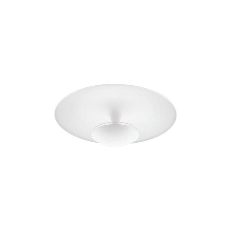 EGLO 95487 stropní LED svítidlo TORONJA. Příkon 24W, 2450lm, teplá bílá barva světla. Napájení 230V. Výška 205 mm. Průměr 550 mm