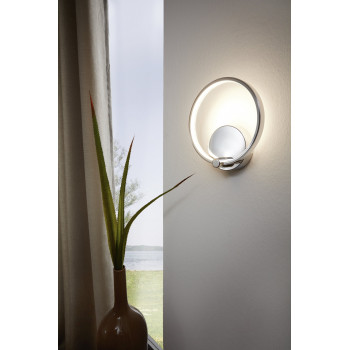 EGLO 95768 LASANA LED svítidlo. 5W, 510 lm, barva světla teplá bílá. Výška 195mm, šířka 180mm. Materiál: ocel, plast. Povrchová