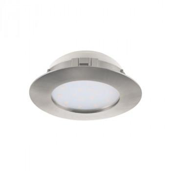 EGLO 95889 PINEDA vestavné bodové svítidlo 1x12W, 1x1000lm, 230V, IP44. Materiál plast. Povrchová úprava nikl mat. Označení: Egl
