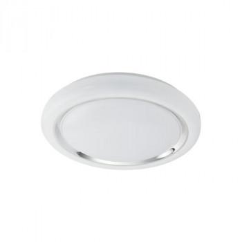 EGLO 96024 CAPASSO stropní svítidlo LED 24W - 2500lm. Barva světla teplá bílá. Průměr 400mm. Materiál: ocel, plast. Povrchová úp