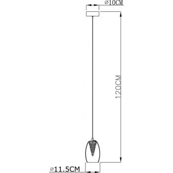 Deko-Light závěsné svítidlo Electra 220-240V AC/50-60Hz 5,80 W 3000 K 180 lm stříbrná  - LIGHT IMPRESSIONS