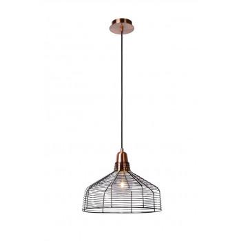 Lucide MOINO - závěsné svítidlo - Ø 35 cm - Měď 71362/35/17