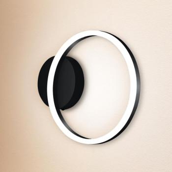 Nástěnné interiérové svítidlo FABAS GIOTTO 3508-21-101 LED 18W černé