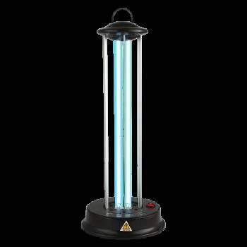 UVC Germicidní/dezinfekční lampa Luxera 70413 2x18W IP20 černá