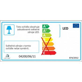 Lucide ALTA-LED - koupelnové svítidlo nad zrcadlo - LED - 1x6W 3000K - IP44 - Chrom 04200/06/11