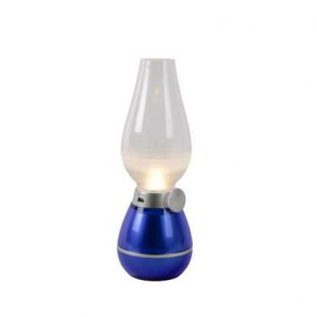 Lucide 13520/01/35 - LED Stmívatelná stolní lampa ALADIN 1xLED/0,4W/5V modrá