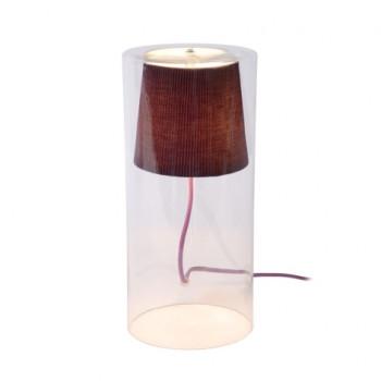 Lucide 78574/01/39 - Stolní lampa TINA 1xG9/40W/230V fialová