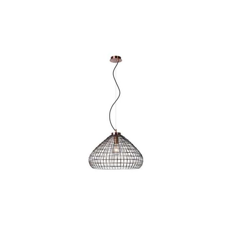 Lucide 71360/50/17 - Závěsné svítidlo MOINO 1xE27/60W/230V 50 cm